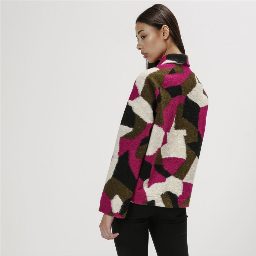 SOIZIC WOOL 3 LAYER GRAPHIC