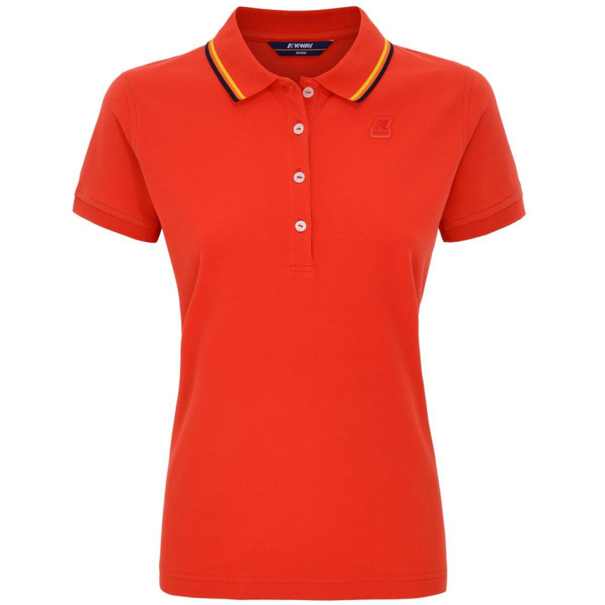 ALIZEE POLO ROUGE