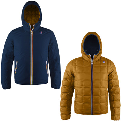 JACQUES THERMO PLUS DOUBLE KIDS - MARINE / CAMEL