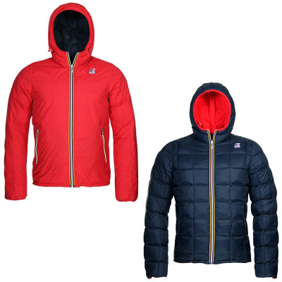 JACQUES THERMO PLUS DOUBLE KIDS - ROUGE / MARINE